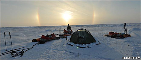 Ice camp (M.Hartley)