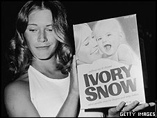 Marilyn Chambers and Ivory Snow