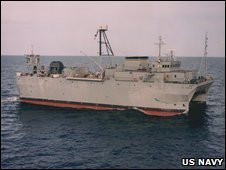 The USNS Victorious (archive image from US navy)