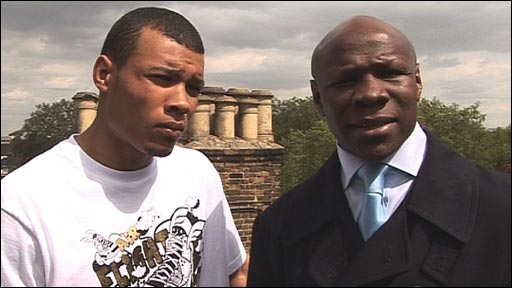 Christopher and Chris Eubank