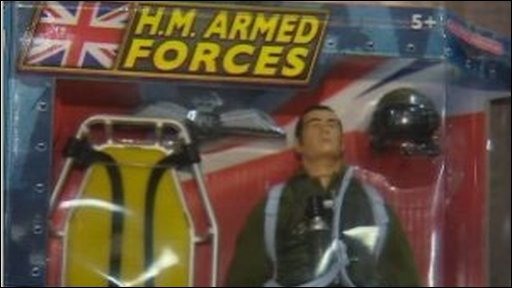 The H.M Armed Forces action man doll