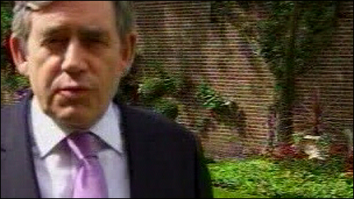 Labour leader, Prime Minister Gordon Brown