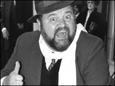 Dom DeLuise on Hollywood Blvd