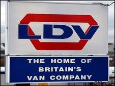LDV sign