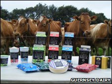 Guernsey Dairy products