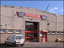Crown Decorator Centre in Newhaven Road