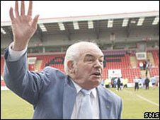 Stirling Albion chairman Peter McKenzie