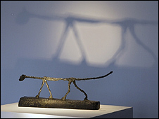Giacometti's The Cat