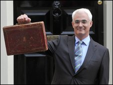 The Chancellor Alistair Darling