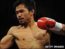 Manny Pacquiao knocked out light-welterweight king Ricky Hatton last weekend