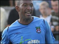 Louis was relegated from the Football League with Mansfield last year