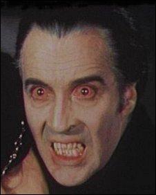 ChristoperLee as Dracula