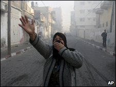 Israeli bombardment of Gaza, 14 January 2009