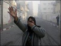 الهجمات الاسرائيلية على غزة