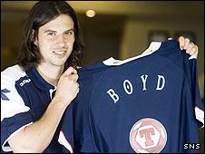 George Boyd is set for a Scotland B cap