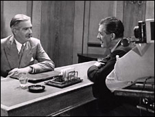 Anthony Eden in the first party political broadcast in 1951