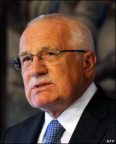 Vaclav Klaus (6 May 2009)