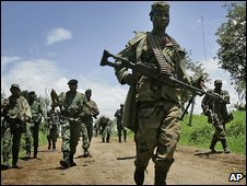 Rebels in eastern DR Congo