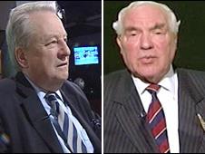 Lord Elis Thomas and Lord Eystan Morgan