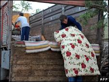 Villagers flee Bilge Koyu  (6 May 2009)