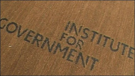 Doormat at the Institute for Government