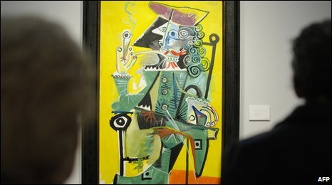 Mousquetaire a la pipe, by artist Pablo Picasso