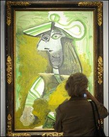 Femme au chapeau, by Pablo Picasso