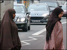 British Muslim women in London. File photo