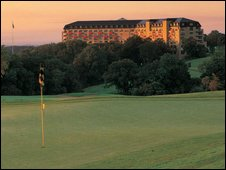 The Celtic Manor hotel