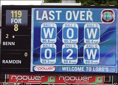 Lord's scoreboard