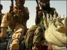 Chadian troops (archive image from June 2008)