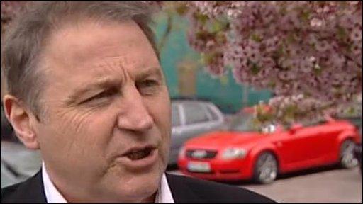Professor Mick Temple of Staffordshire University