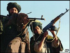 Taleban fighters (file image)