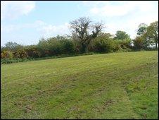Amelia Earhart landed in this field in Ballyarnet in 1932