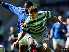 Marvin Andrews and Craig Bellamy