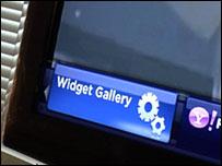 Widget in Samsung TV