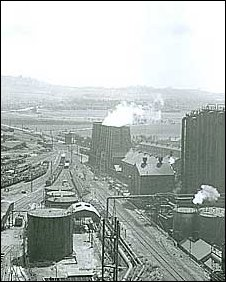 Archive photo of Redcar steelworks (courtesy Teesside Archives)