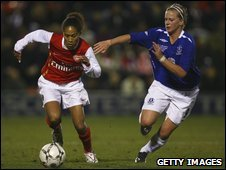Rachel Yankey and Natasha Dowie