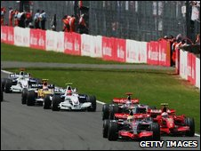 British Formula One Grand Prix at Silverstone on July 8th 2007
