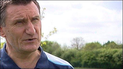 West Bromwich Albion boss Tony Mowbray