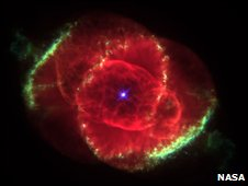 Cat's Eye Nebula (Nasa/Esa/STScI)