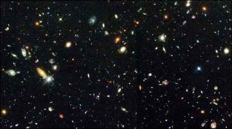Hubble Deep Field (Nasa/Esa/STScI)