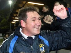 Dungannon Swifts Dixie Robinson