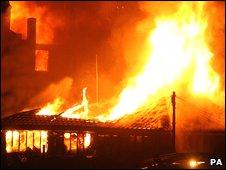 The Camden Market fire in February 2008