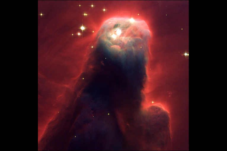 Cone Nebula (NGC 2264) a star-forming pillar of gas and dust