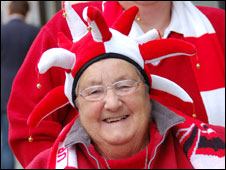 City fan Ethel Jennings