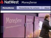 The NatWest Moneysense website