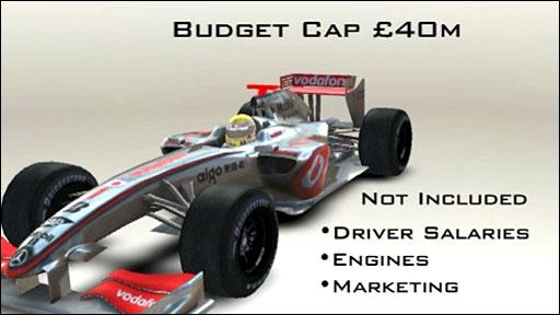 F1 proposes a budget cap