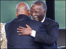 Jacob Zuma and Thabo Mbeki