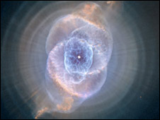 The Cat's Eye Nebula (Nasa/The Hubble Heritage Team)